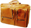 Passage 2 Collection Vaquetta Leather Deluxe Executive Briefcase