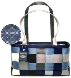 Harveys Seatbelt Bags Large Satchel Forever Blue Jean
